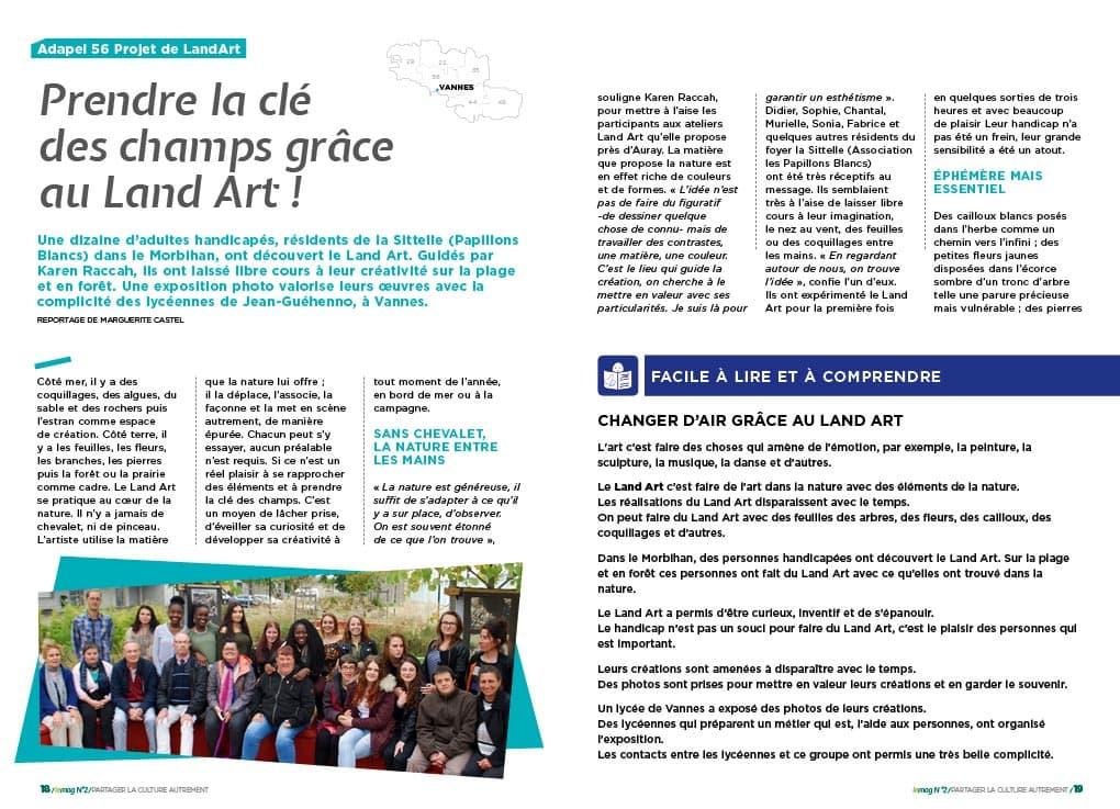 Groupama Loire Bretagne - Culture & Handicap N°2-3