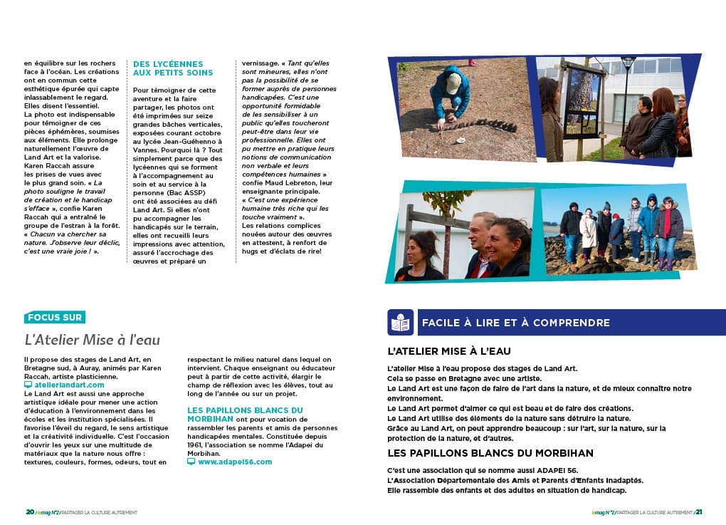 Groupama Loire Bretagne - Culture & Handicap N°2-4