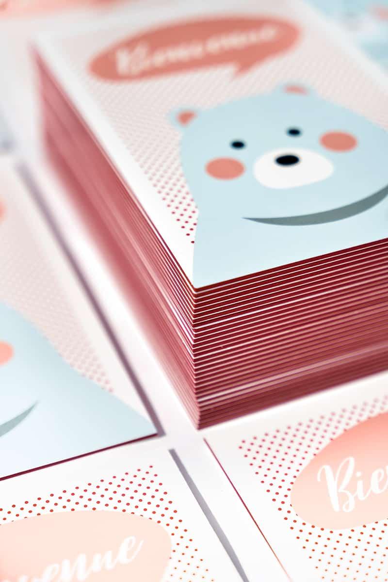 Carte postale naissance - Vivement Mercredi-1