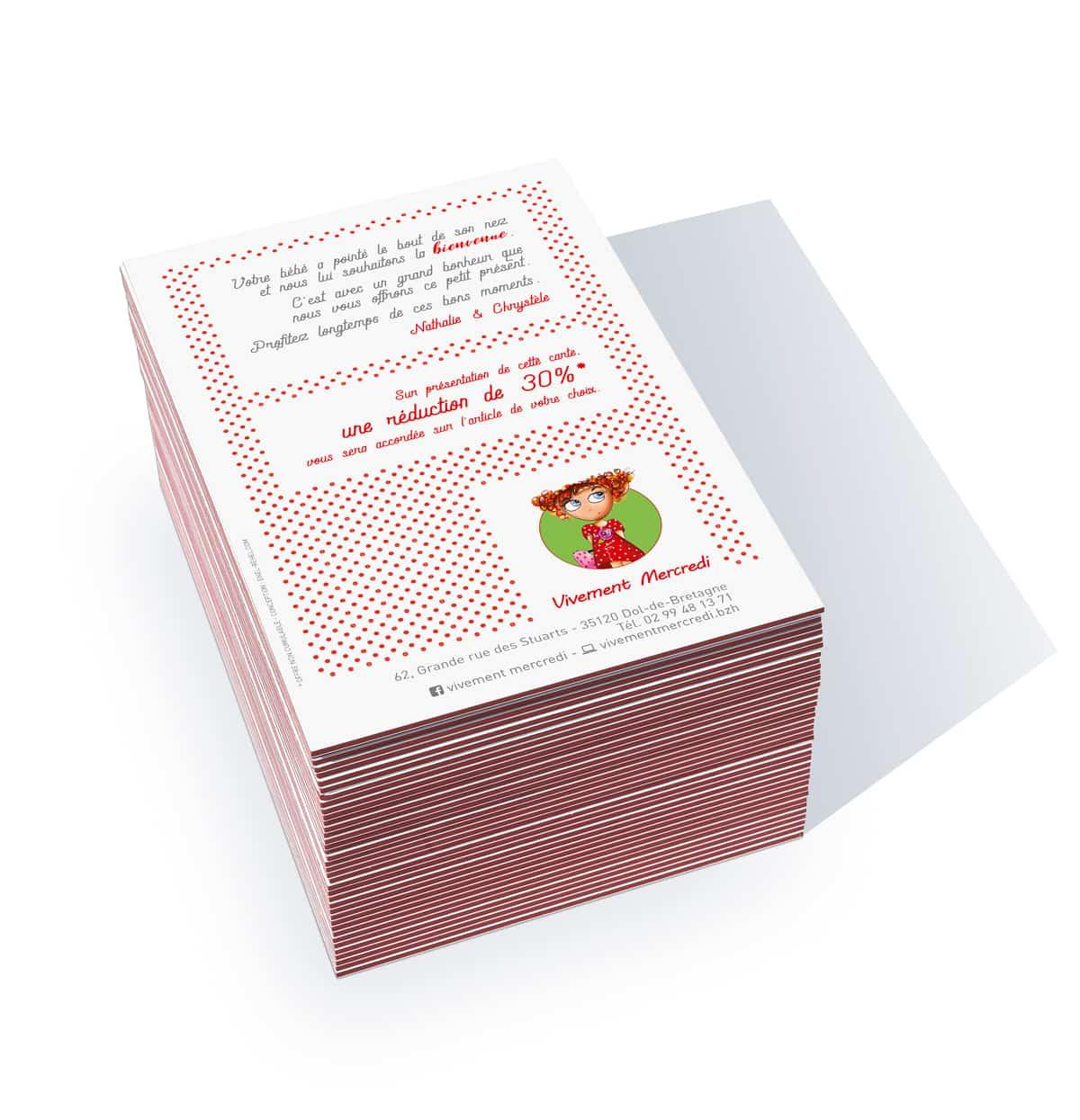 Carte postale naissance - Vivement Mercredi-3