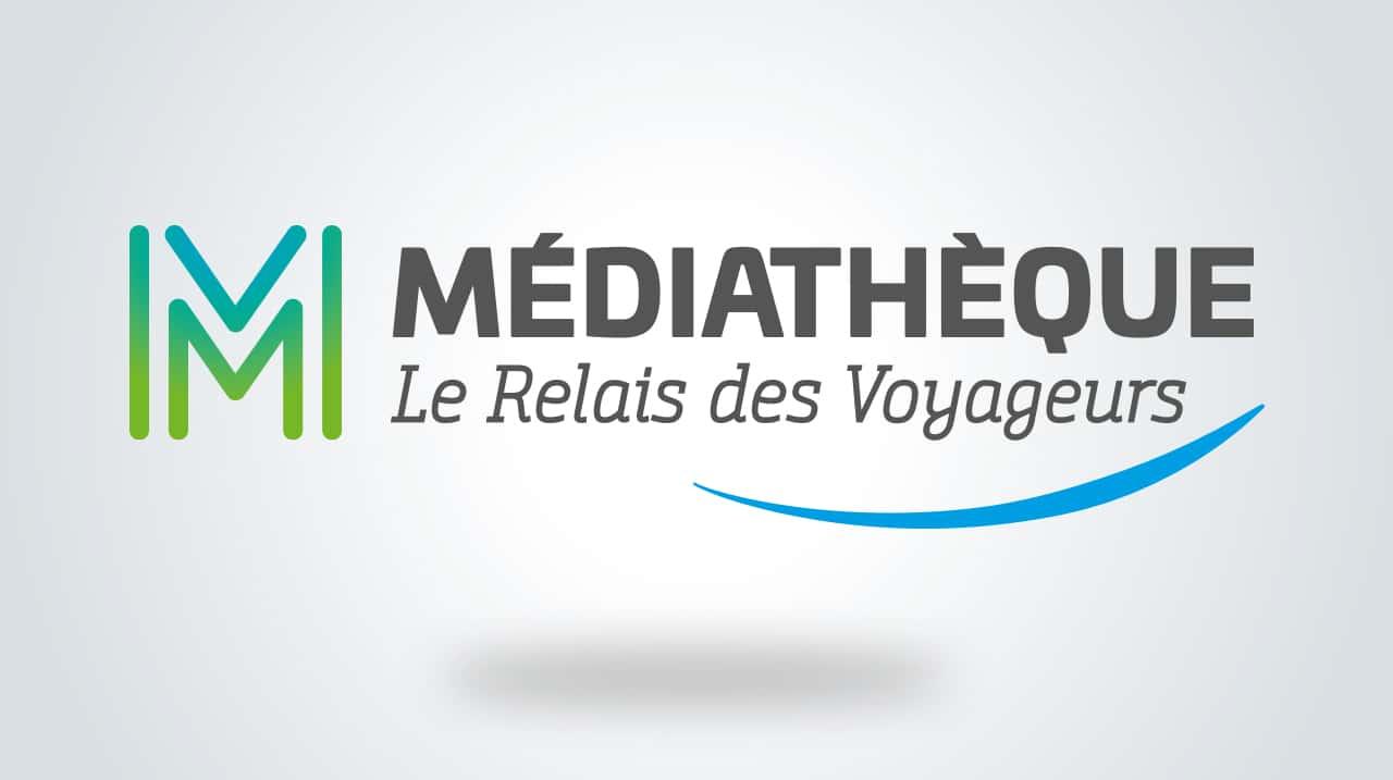 Médiathèque Saint-Méloir des Ondes - Logotype