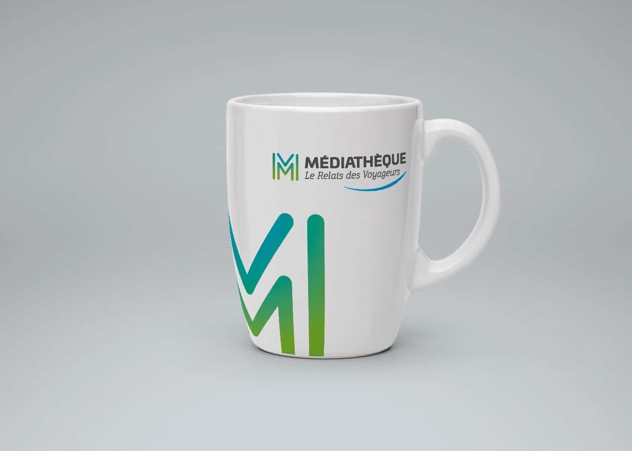 Médiathèque Saint-Méloir des Ondes  - Mug