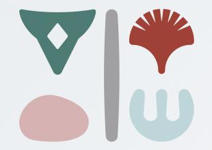 Identité graphique Chambres d'hôtes – Les îles Vagabondes